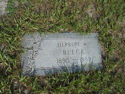 "Herbert William Carl ""Herbie"" Bleck"