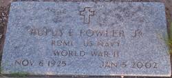 Rufus Edgar Fowler, Jr