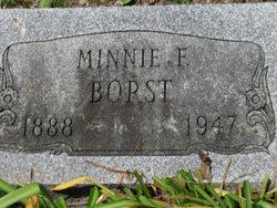 Minnie <I>Gerlacher</I> Borst