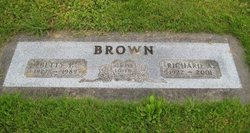 Betty Pearl <I>White</I> Brown