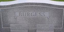 Mary Elizabeth <I>Lawless</I> Burgess