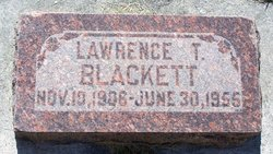 Lawrence Tame Blackett