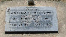 William Elden Lowe