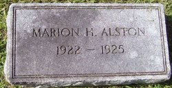 Marion Huber Alston