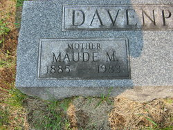 "Maude M ""Gramma Port"" <I>Ives</I> Davenport"