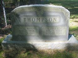 Roxie Anna <I>Reagan</I> Thompson