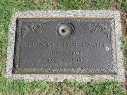 Leonard Clyde Carter