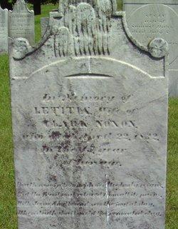 Letitia <I>McLees</I> Noxon