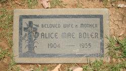 Alice Mae <I>Murphy</I> Boler