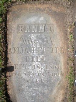 Fanny <I>Rogers</I> Foster