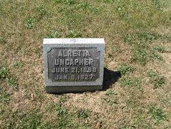 """Alretta """"Allie"""" <I>Brinkler</I> Uncapher"""