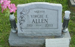 Virgie Elizabeth <I>Morris</I> Allen