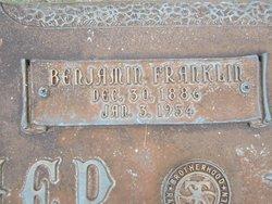 """Benjamin Franklin """"Frank"""" Belcher"""