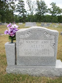 Nancy Ann <I>Hampton</I> Allen
