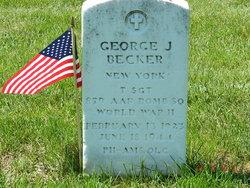 TSGT George J Becker