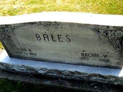 Lena N. <I>Conwell</I> Bales