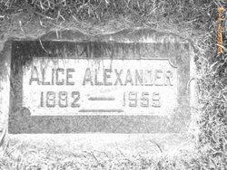 Alice Matilda Alexander