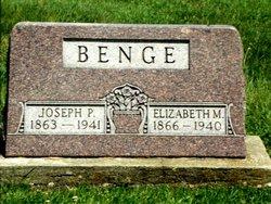 Joseph P Benge