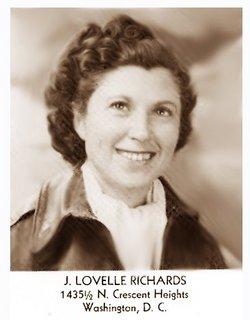Jozy Lovelle <I>Richards</I> Benesh