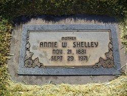 """Ellen Angeline """"Annie"""" <I>Welch</I> Shelley"""