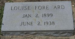 Louise <I>Fore</I> Ard