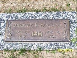 Dorothy L <I>Grim</I> Alderson