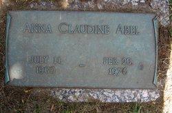 Anna Claudine Abel