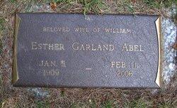 Esther Garland <I>Croswell</I> Abel