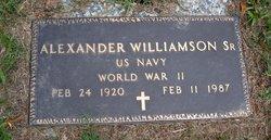 Alexander Williamson, Sr