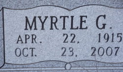 Myrtle G <I>Crain</I> Anthony