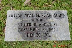 Lillian Neal <I>Morgan</I> Adden