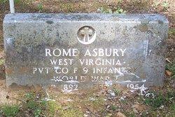 Rome Asbury