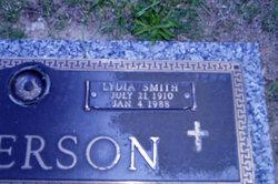 Lydia <I>Smith</I> Anderson