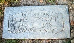 Alma Mae <I>Burt</I> Sprague