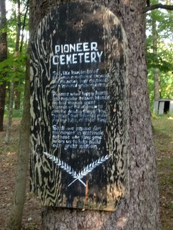 Cataract Pioneer Cemetery