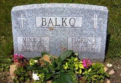 Florence <I>Peach</I> Balko