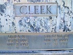 """Mary Almyra """"Myra"""" <I>Norris</I> Cleek"""