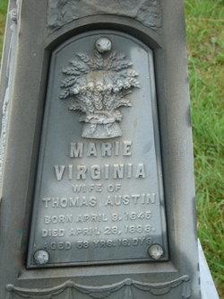 Mary Virginia <I>Gauchat</I> Austin