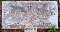SSgt Clarence Edward Berry