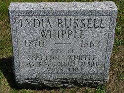 Lydia <I>Russell</I> Whipple