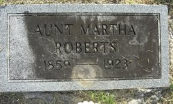 Aunt Martha Roberts