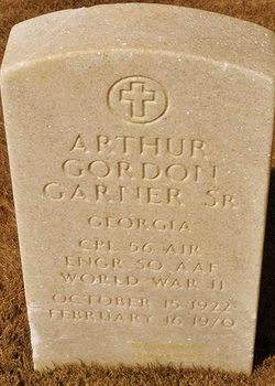 Arthur Gordon Garner, Sr
