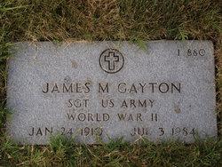 James M Gayton