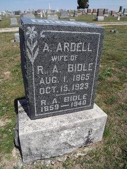A. Ardell <I>Ashby</I> Bidle