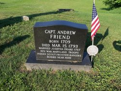 """Capt Andrew """"Old Scout"""" Friend"""