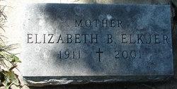 Elizabeth B. <I>Browne</I> Elkjer