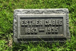 Esther <I>Clendening</I> Cable