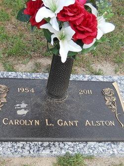 Carolyn L <I>Gant</I> Alston