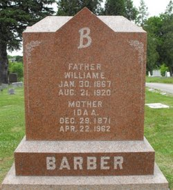 Ida A. <I>Crawford</I> Barber