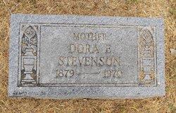 Dora Elizabeth <I>Hurt</I> Stevenson